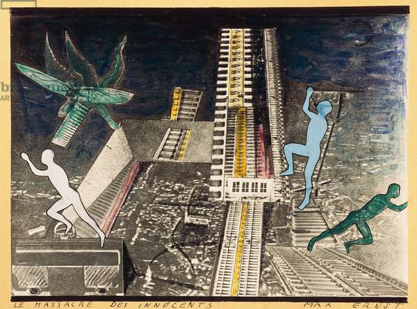 The Massacre of the Innocents, by Max Ernst (1891-1976), mixed media. Germany, 20th century.