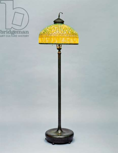 Floor lamp, by Tiffany and Co, New York, United States of America, 20th century