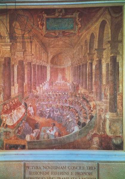 The Council of Trento (fresco)