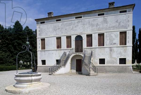 Monselice Villa Emo (1588), architecture, Vincenzo Scamozzi, Monselice, Veneto, Italy