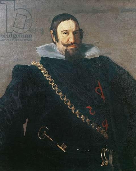Portrait of Caspar de Guzman, Count of Olivares, Prime Minister of Philip IV by Diego Velazquez (1599-1660), 1624