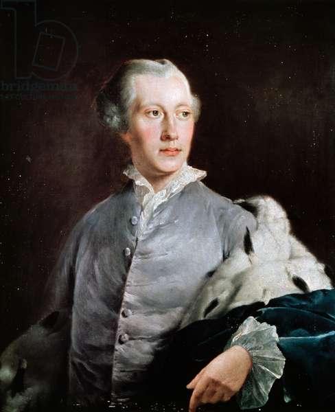 John Stuart Bute (oil on canvas)