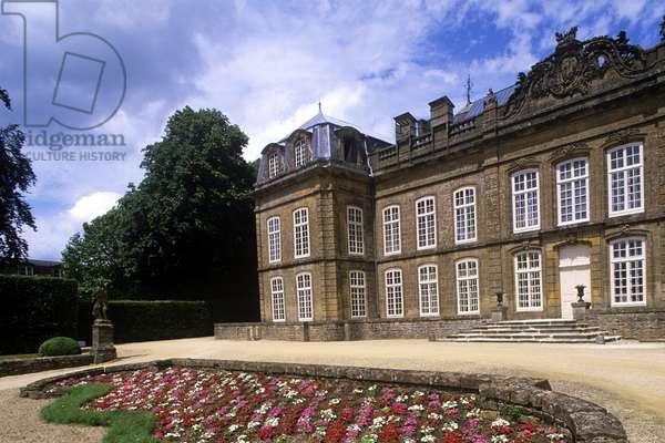 France, Champagne-Ardenne, Bazeilles castle