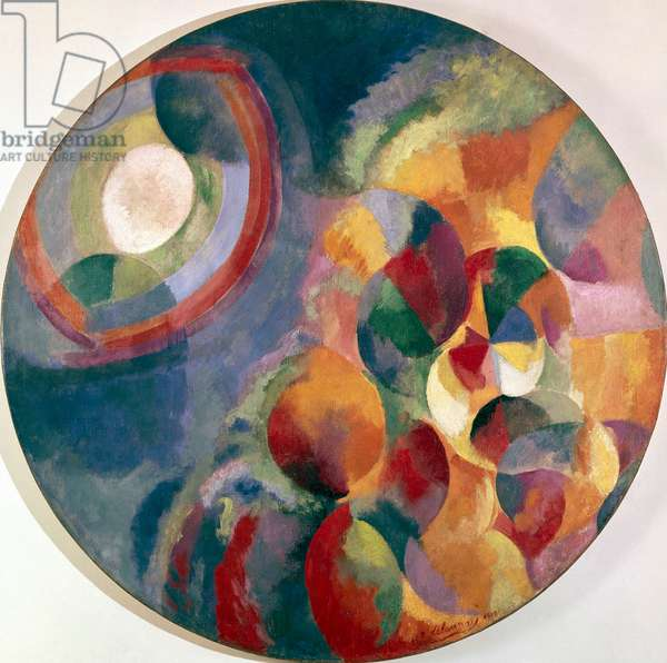 Simultaneous Contrasts: Sun and Moon, 1912-13 (oil on canvas)