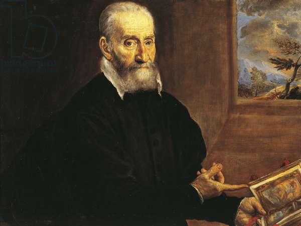 Portrait of Giulio Clovio, by El Greco (1541-1614)