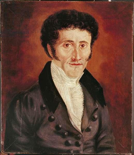 Self portrait, 19th century (oil on canvas)
