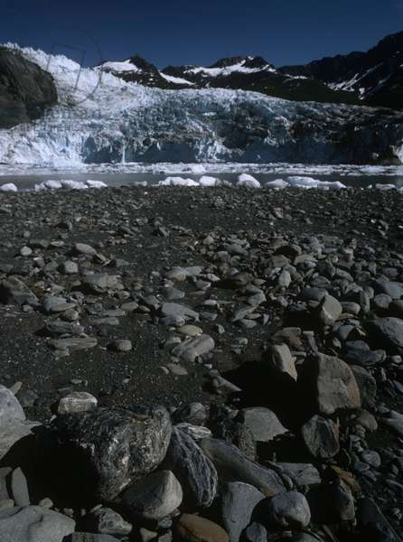 USA; Alaska; Columbia Glacier (photo)