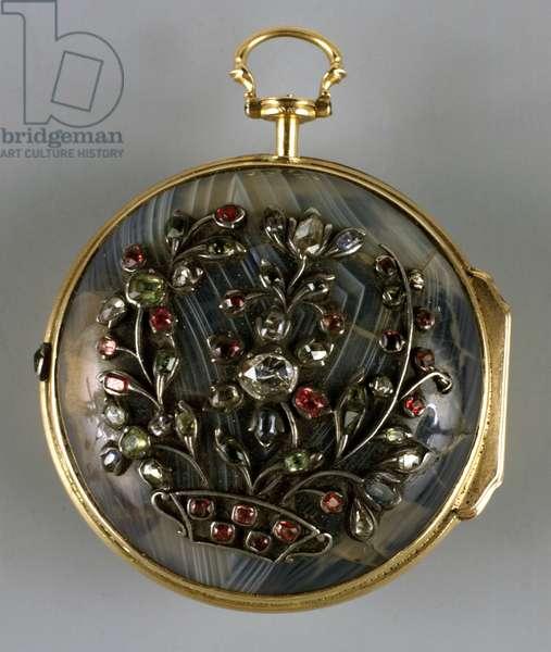 Clock, England, 18th century