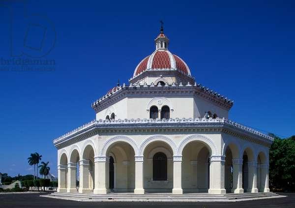 Chapel in Christopher Columbus Cemetery, El Vedado, Havana, Cuba