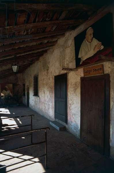 Birthplace of Angelo Roncalli, Pope John XXIII, Sotto il Monte Giovanni XXIII, Lombardy, Italy