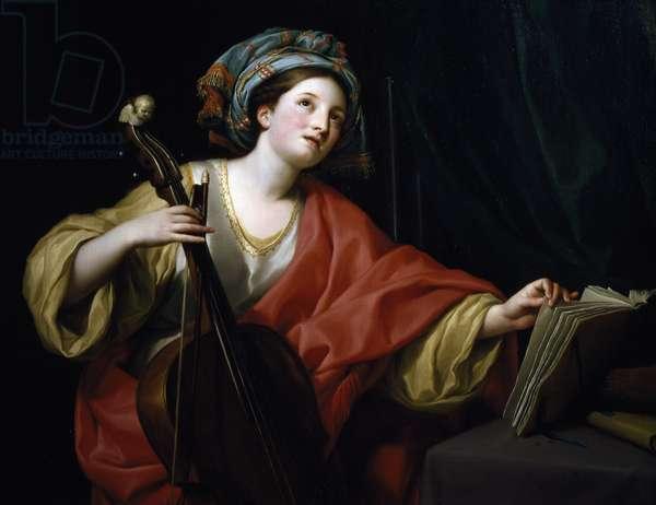 Saint Cecilia, by Anton Raphael Mengs, 1760-1761, oil on canvas, 1728-1779, 94x122 cm