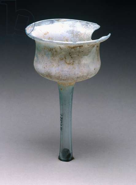 Light green glass pitcher, House of Maius Castricius, Pompeii, Campania, Italy, Roman civilization, 1st century AD