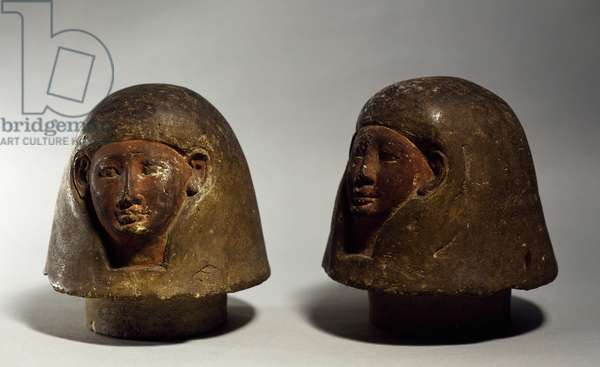 Pharaoh-head shaped mementos which belonged to Claude Debussy (1862-1918)