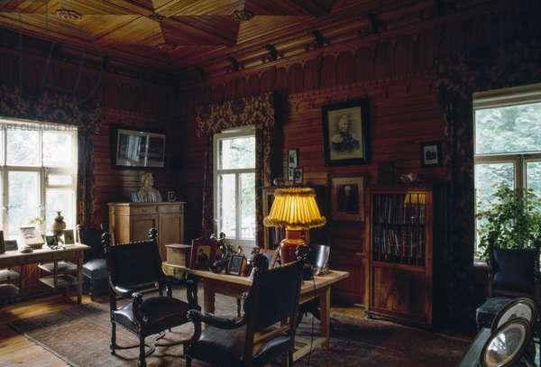 Study of Pyotr Ilyich Tchaikovsky, Tchaikovsky House-Museum, Klin, Russia