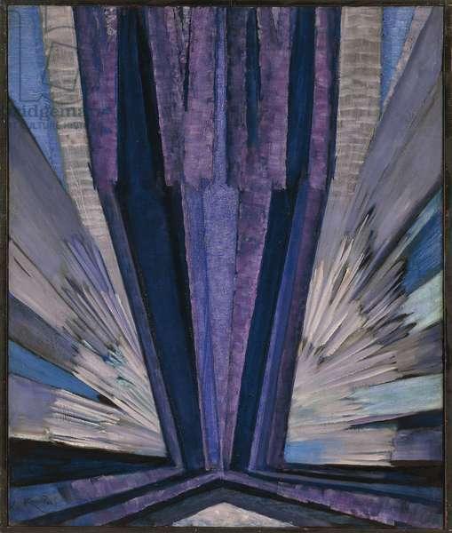 Blue Shape, 1913-14