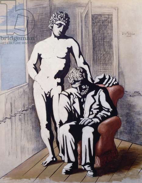 The Prodigal son, 1926, by Giorgio de Chirico (1888-1978), oil on canvas. Italy, 20th century.