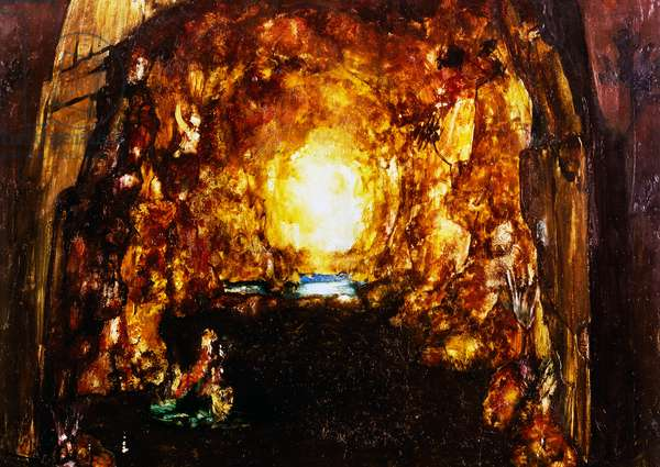 Cave, scenography by Leonor Fini (1907-1996) for Tannhauser by Richard Wagner, 1963, 20th century