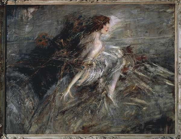 Italy, Rome, Portrait of Marchesa Luisa Casati