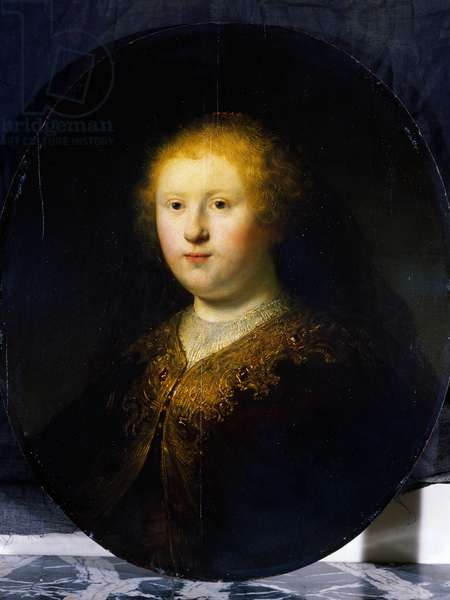 Portrait of young girl, 1632 (oil on canvas)