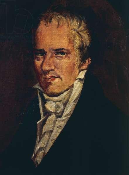 Portrait of Alexander von Humboldt (Berlin, 1769 - Berlin, 1859), German naturalist, explorer and botanist