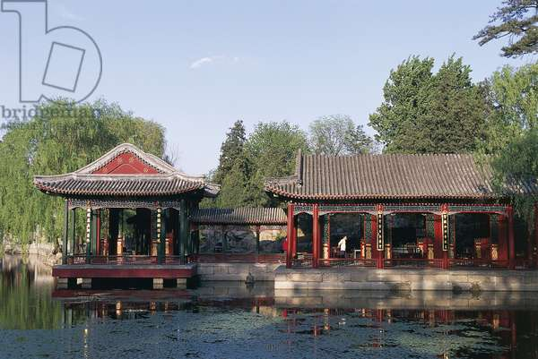 China - Beijing. Imperial Summer Palace (UNESCO World Heritage List, 1998). Garden of Harmonious Delights