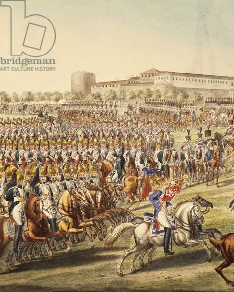 Battle of Dresden, August 26-27, 1813, Napoleonic Wars, Germany, 19th century