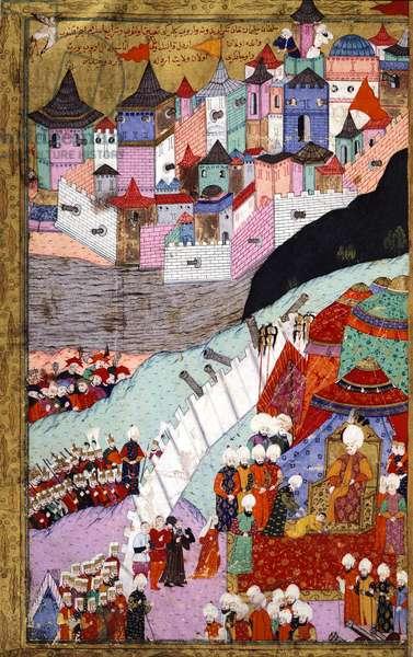 Sultan Suleiman the Magnificent in Buda, Turkey 16th Century.
