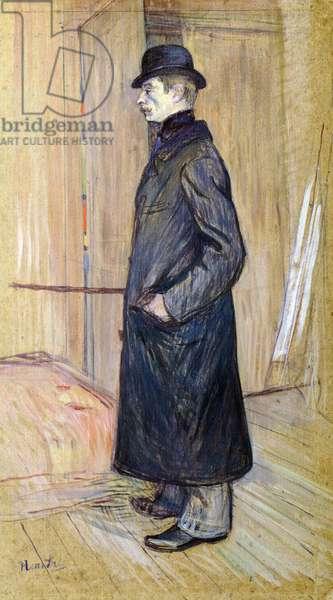 Portrait of Gaston Bonnefoy, by Henri de Toulouse-Lautrec (1864-1901), 1891