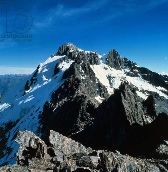 Peaks of the Andes mountain range, Venezuela (photo)