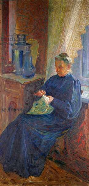 Portrait of Madame Sophie Popoff, 1906 (oil on canvas)