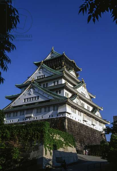 Osaka castle, Kansai, Japan, 16th-20th century