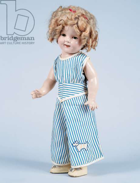 Shirley Temple doll No 18 made by Ideal Novelty and Toy, 1934, USA, 20th century