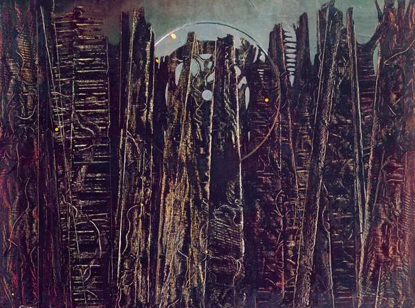 The forest, 1927-1928, by Max Ernst (1891-1976), oil on canvas, 96x129 cm. Germany, 20th century.
