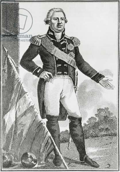 Portrait of Frederick I William Charles, Duke, Elector then King of Wurttemberg (1754-1816), engraving