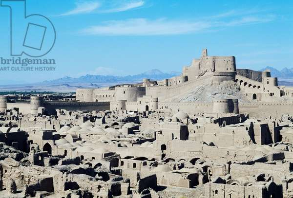 Bam Citadel (UNESCO World Heritage List, 2004), before it was damaged by the earthquake of 26 December 2003, Kerman, Iran