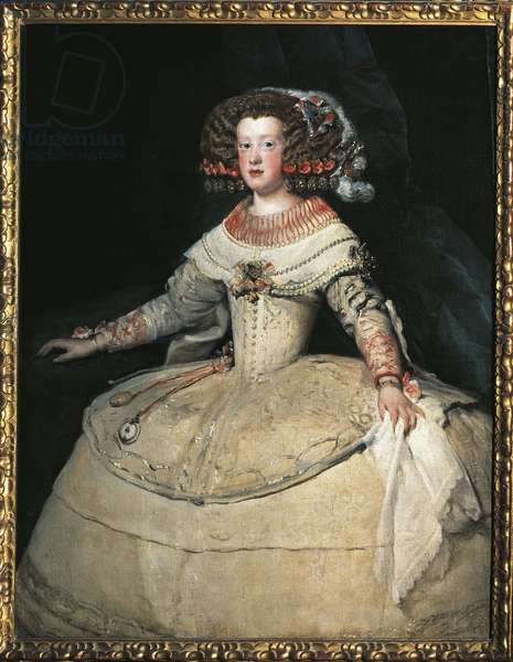 Portrait of Infanta Maria Theresa of Spain, 1653