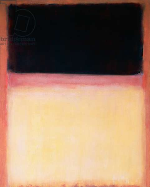 Violet and yellow in roses, 1954, by Mark Rothko (1903-1970), acrylic on canvas, 172x212 cm. United States of America, 20th century.