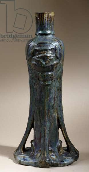 Ceramic vase, 1900 (gres)