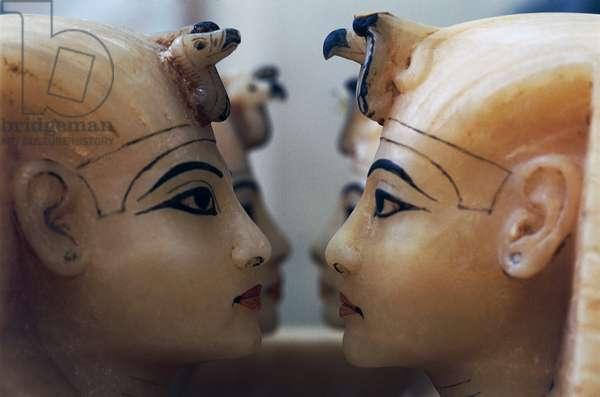 Statues from Tomb of Tutankhamun, Egyptian civilization, Dynasty XVIII, Detail