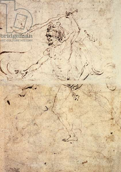 Study for Hercules and Hydra of Lerna