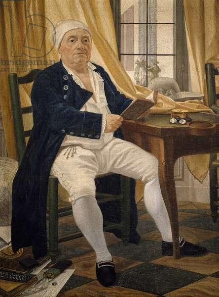 Portrait of Ennemond Alexandre Petitot , by Johann Zoffany (1733-1813)