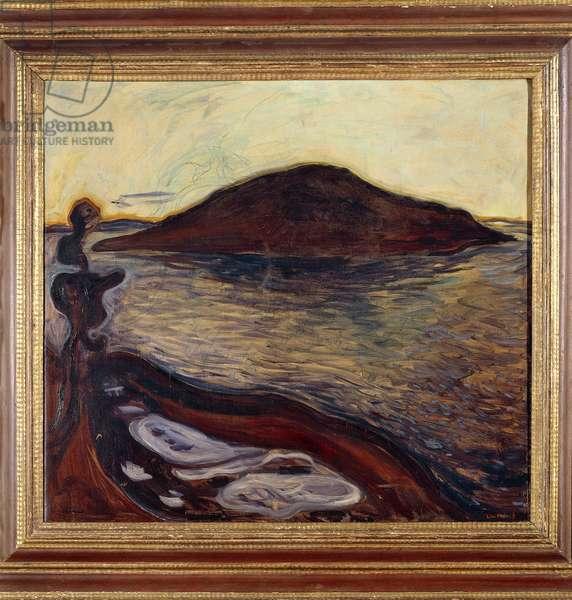 The Island (oil on canvas)