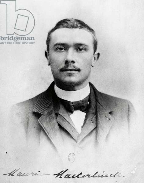 Maurice Maeterlinck (Ghent, 1862 Nice, 1949), Belgian poet and playwright