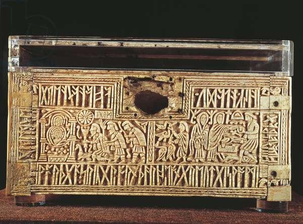 Franks Casket, Northumbria (whalebone), c. AD 700