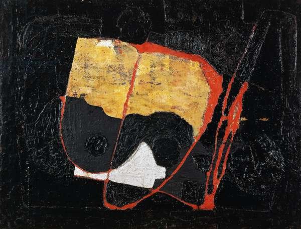 Tar, 1950 (oil on canvas)