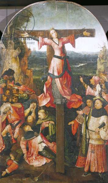 Detail from central panel of Triptych of St Liberata by Hieronymus Bosch (circa 1450-1516)