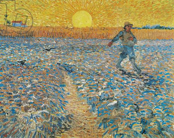 The Sower, 1888 (oil on canvas)