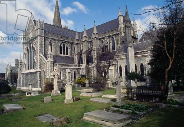 St Patrick's Cathedral, Dublin, Ireland, 12th century