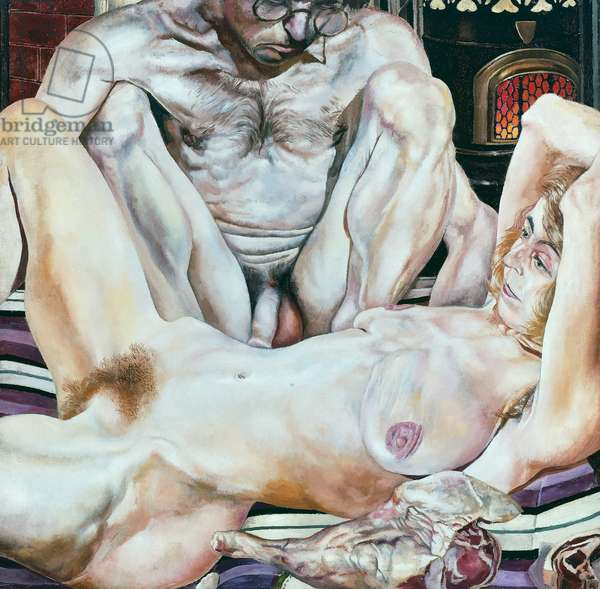 Double Nude Portrait, 1937, by Stanley Spencer (1891-1959). United Kingdom, 20th century.