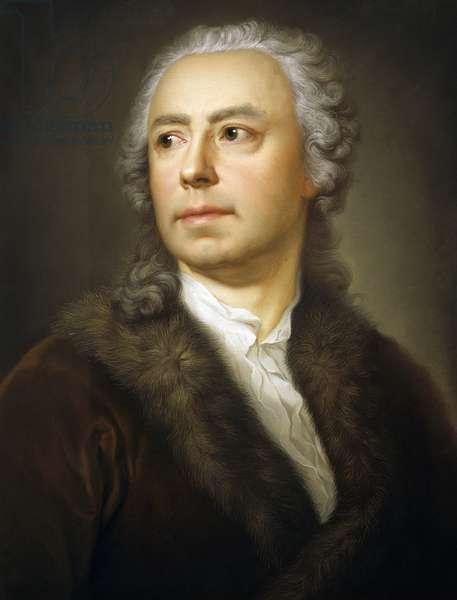 Portrait of Ismael Mengs, by Anton Raphael Mengs, pastel on paper, 1728-1779, 58x45 cm